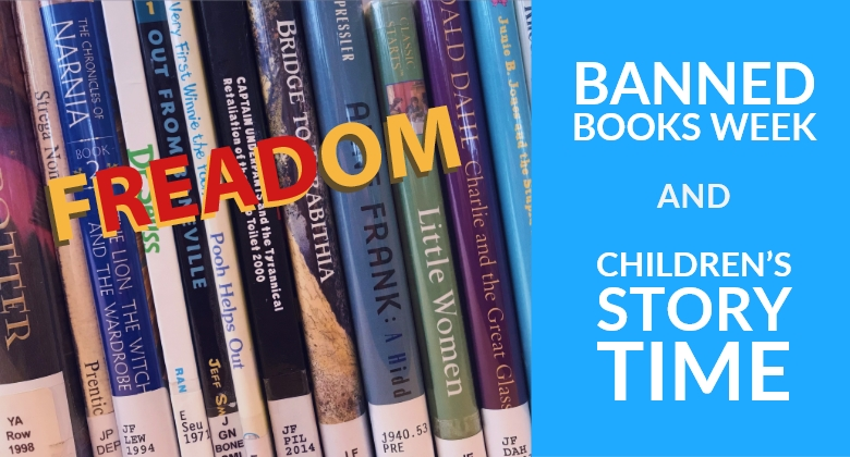Children's Story Time: Banned Books Week