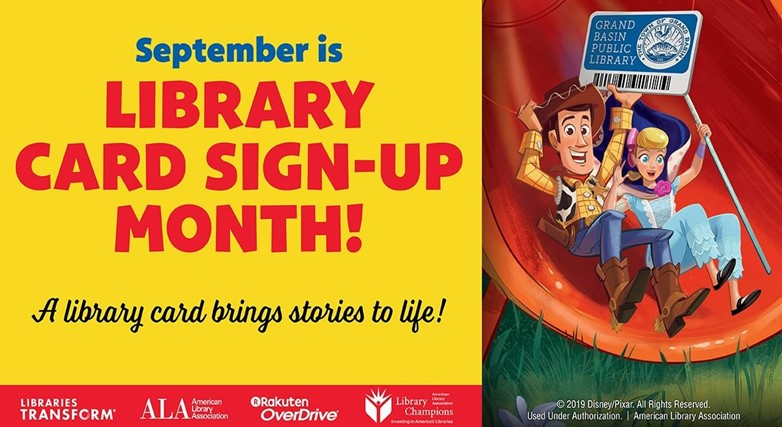 Sign Up for a Library Account in September